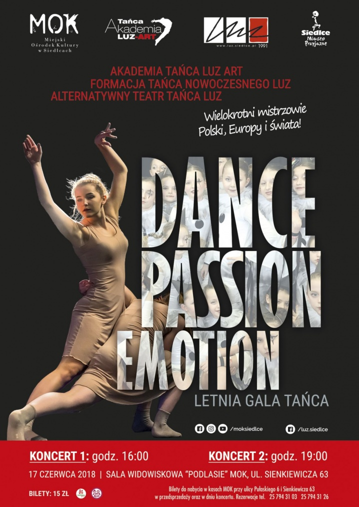 Dance, Passion, Emotion. Letnia gala tańca